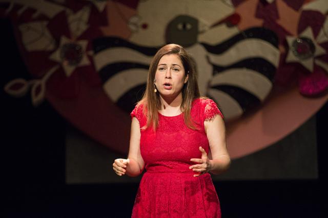 Alison Yanez performs during a dress rehearsal at the Winchester Cultural Center theater on Thursday, March 10, 2016, in Las Vegas. Erik Verduzco/Las Vegas Review-Journal Follow @Erik_Verduzco