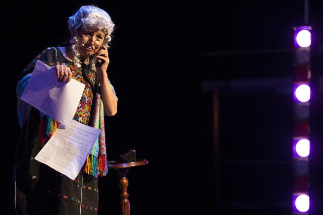 Alma Lopez performs during a dress rehearsal at the Winchester Cultural Center theater on Thursday, March 10, 2016, in Las Vegas. Erik Verduzco/Las Vegas Review-Journal Follow @Erik_Verduzco
