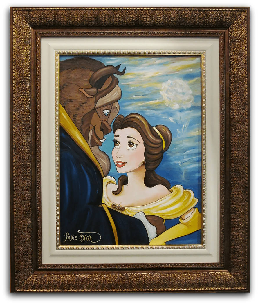 """""""Tale as Old as Time,"""" features """"Beauty and the Beast's"""" title characters and more than $10,000 worth of precious gems. (Paige O'Hara)"""