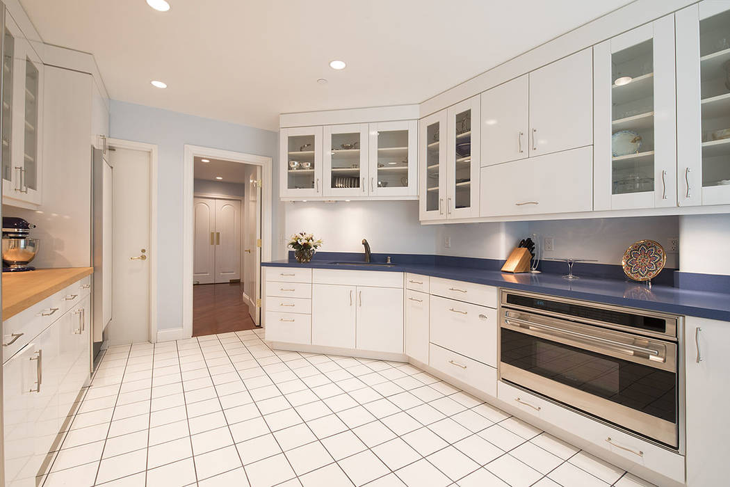 The main kitchen.  (Synergy|Sotheby's International Realty)