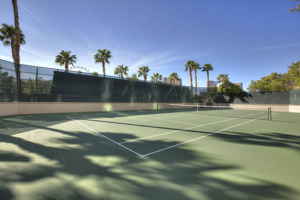 The tennis courts.  (Synergy|Sotheby's International Realty)