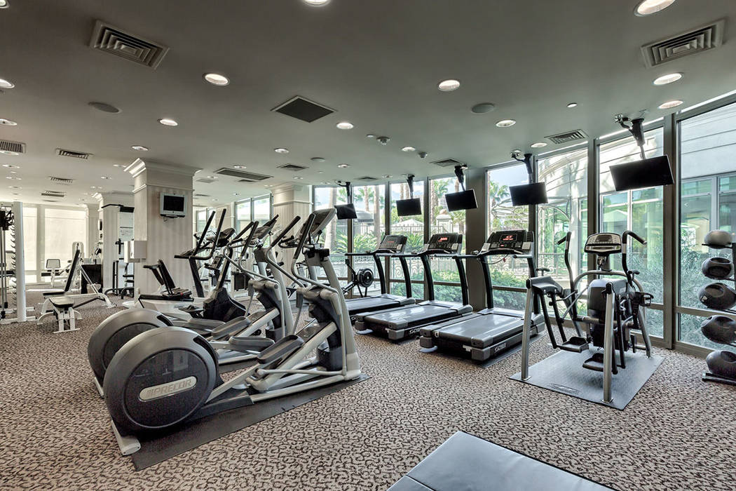The gym.  (Synergy|Sotheby's International Realty)