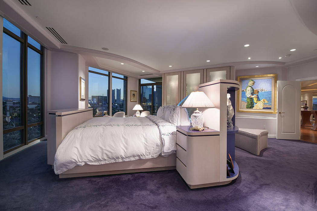 The master bedroom.  (Synergy|Sotheby's International Realty)