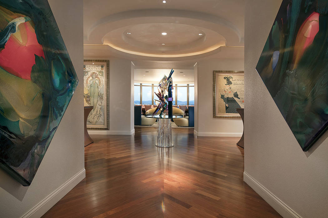 The entry.  (Synergy|Sotheby's International Realty)