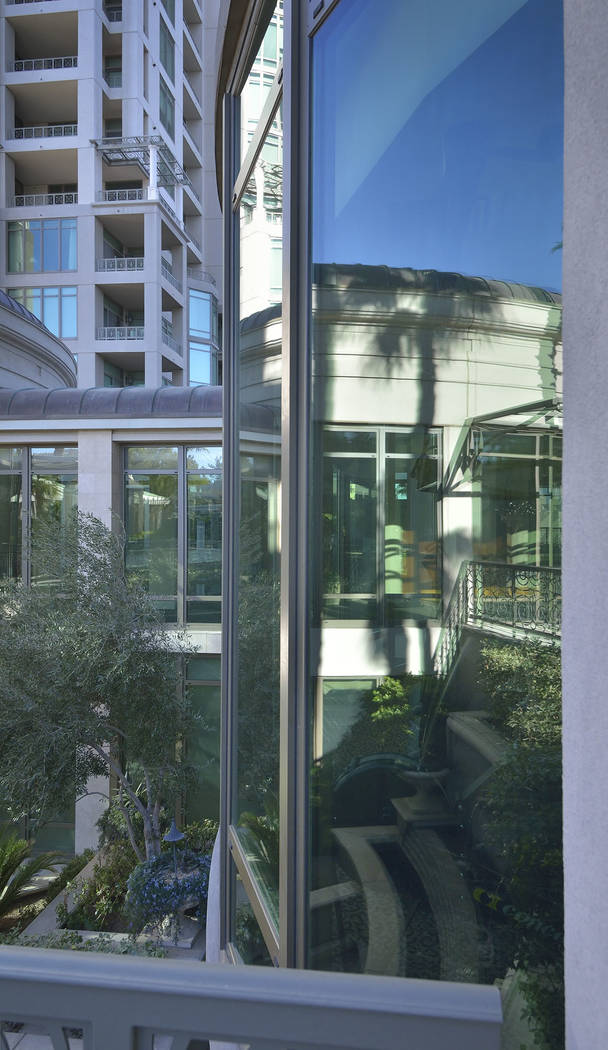 Park Towers at Hughes Center at 1 Hughes Center Drive. (Bill Hughes Real Estate Millions)