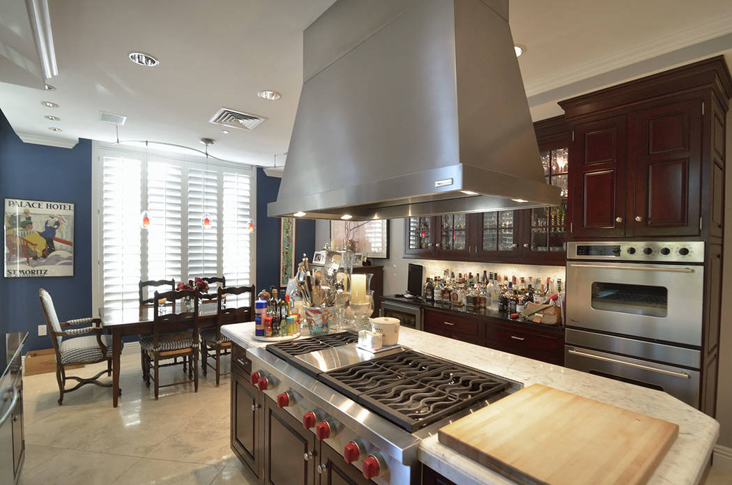 The second kitchen. (Bill Hughes Real Estate Millions)