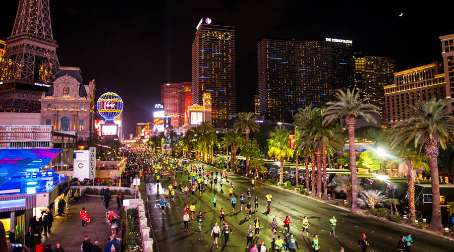 Geico Rock 'n' Roll marathon events will close down part of the Strip this weekend. (Courtesy)