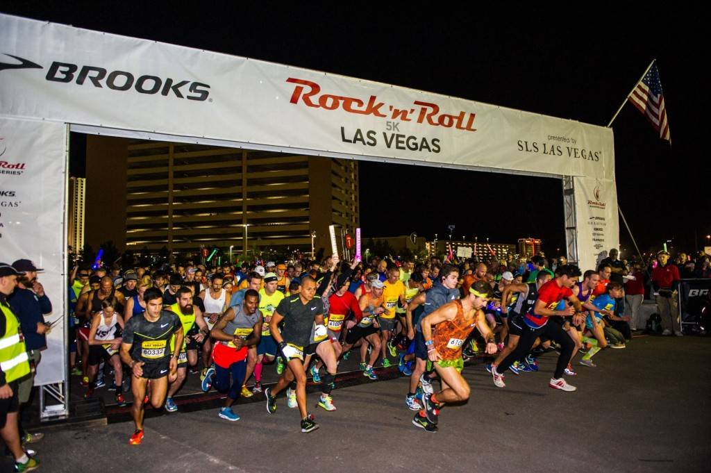 The Geico Rock 'n' Roll marathon expects with more than 40,000 runners competing from 73 different countries and all 50 states.