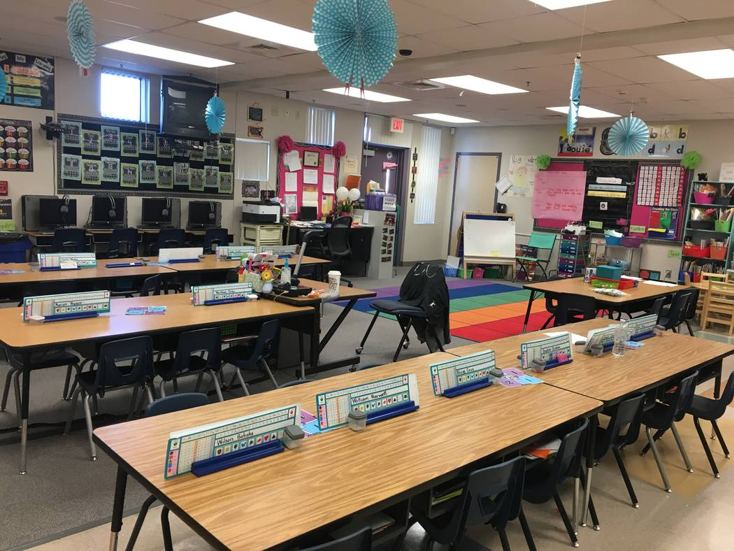 Gehring Elementary School principal Amy Yacobovsky said classrooms like this could soon be turned into a lab setting outfitted with new tables and scientific equipment once the school becomes sole ...