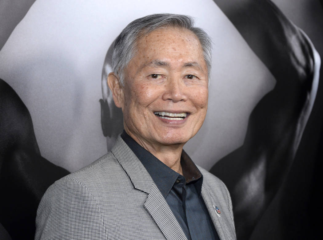 "George Takei attends the premiere of ""Mapplethorpe: Look at the Pictures"" in Los Angeles, Calif. (Phil McCarten/Invision/AP, File)"