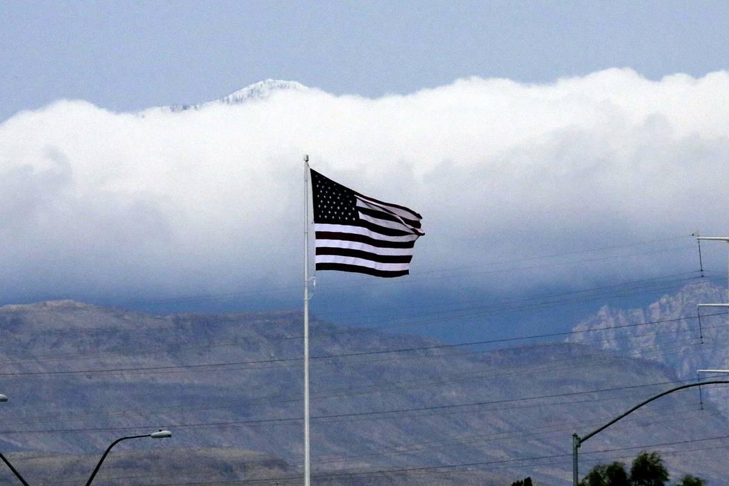 The Las Vegas Valley can expect a cloudy Sunday, but plenty of sunshine once the work week starts. (Bizuayehu Tesfaye/Las Vegas Review-Journal)@bizutesfaye