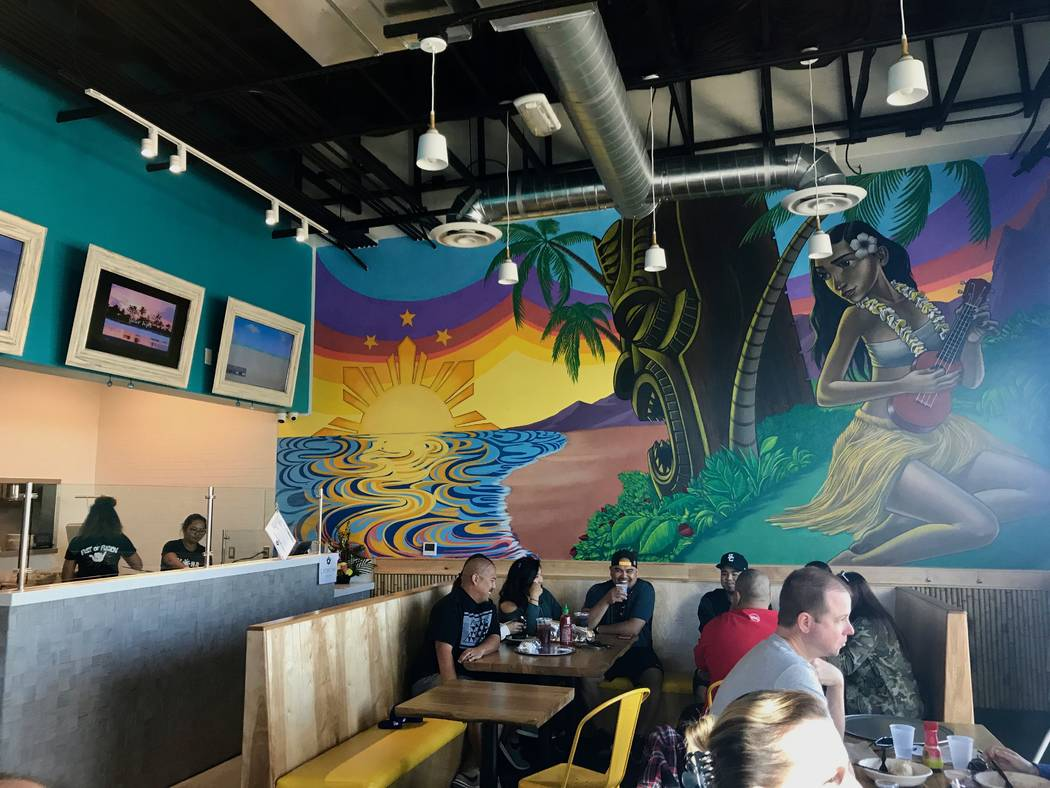 A large mural by artist John Park covers an entire wall at Fist of Fusion. (Madelyn Reese/View) @MadelynGReese