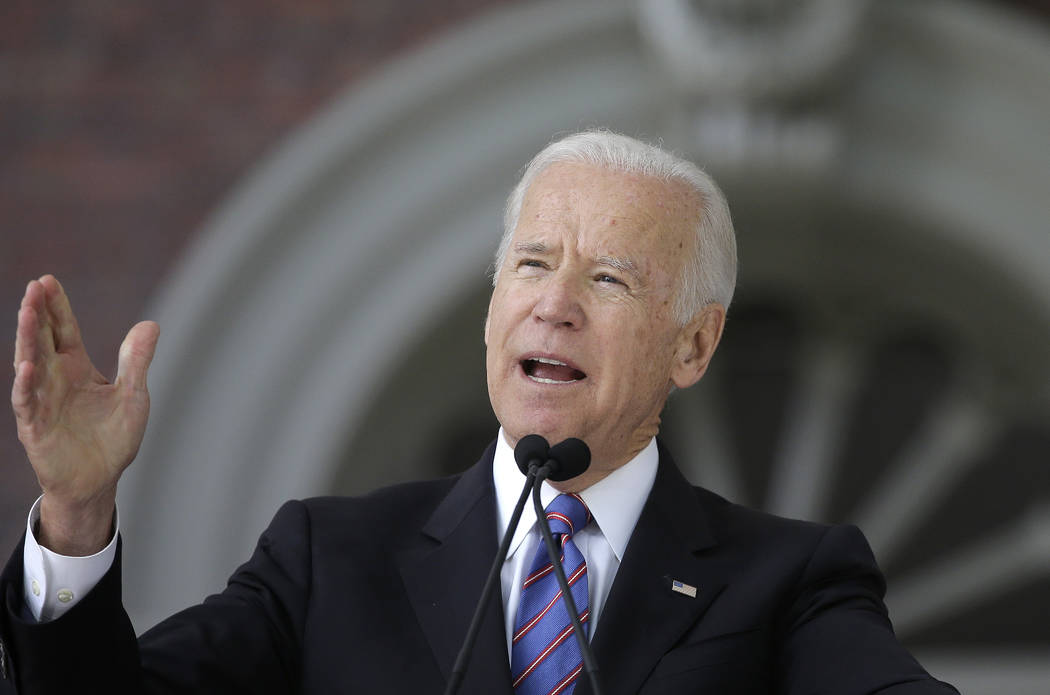 Former Vice President Joe Biden. (AP Photo/Steven Senne, File)