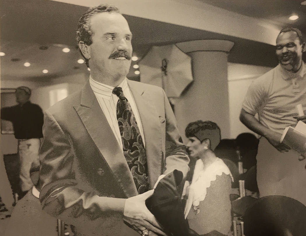 This Feb. 2, 1994 file photo shows UNLV coach Jeff Horton.