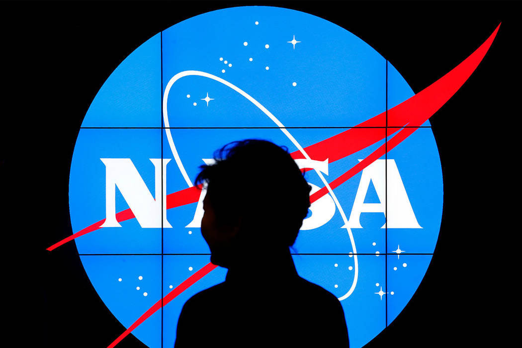 NASA logo (AP Photo/Patrick Semansky)