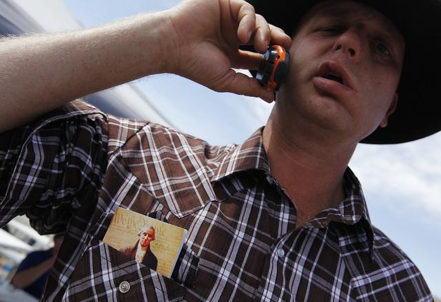 Ryan Bundy, son of rancher Cliven Bundy. (Jason Bean/Las Vegas Review-Journal)
