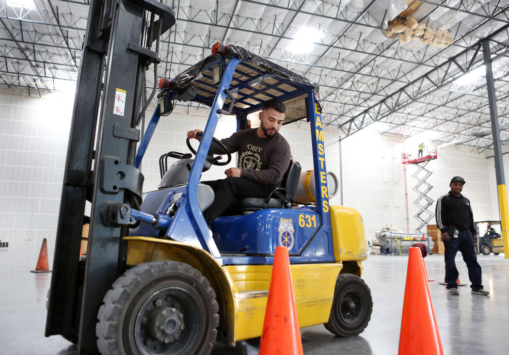 Teamsters Training Center Seen To Alleviate Worker Shortage Las