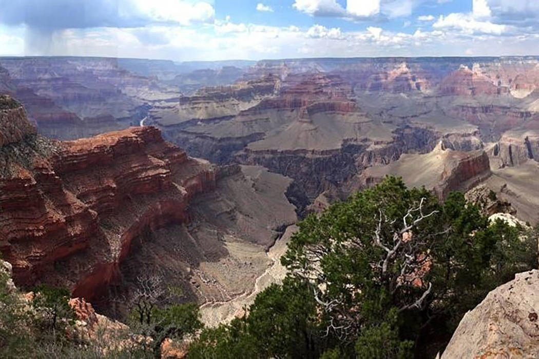 Overall view from the south Rim of the Grand Canyon near Tusayan, Arizona  August 10, 2012. Charles Platiau/Reuters
