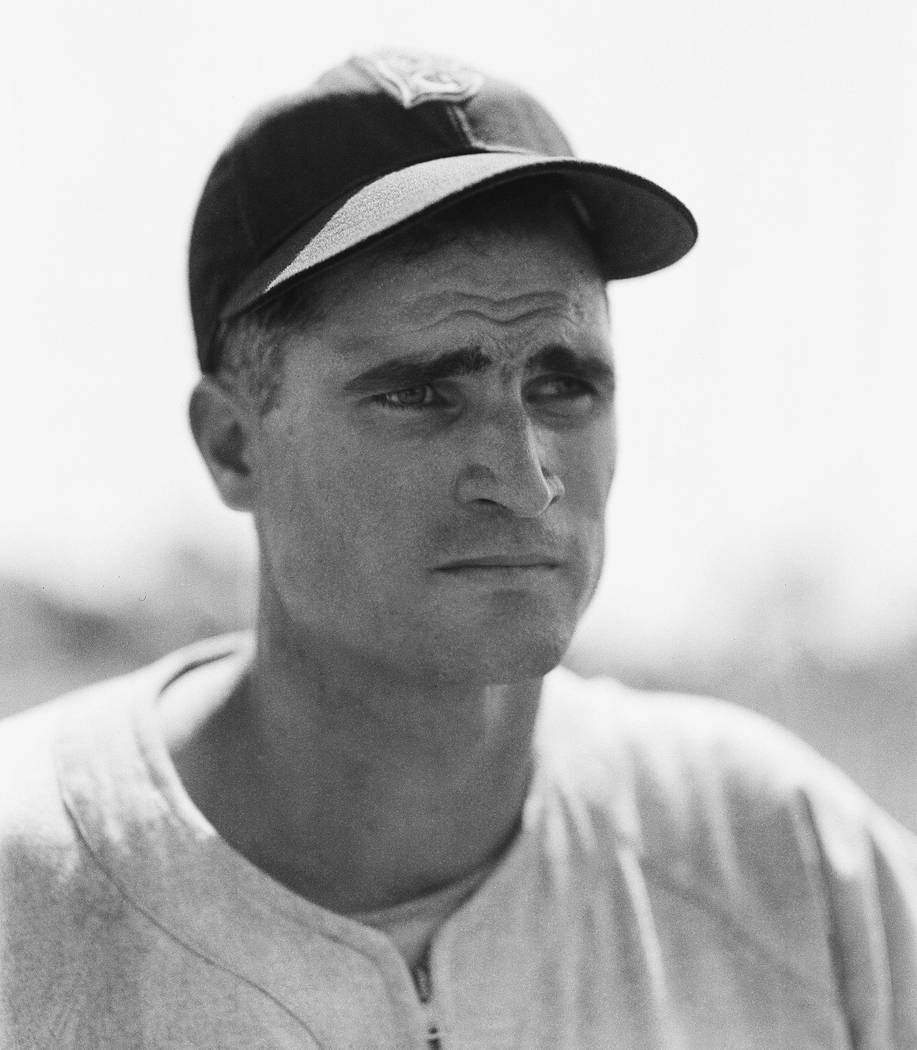 "In this April 1, 1948, file photo, Boston Red Sox infielder Bobby Doerr is shown in Boston. Doerr, a Hall of Fame second baseman who was dubbed the ""silent captain"" by longtime Red Sox teammate an ..."