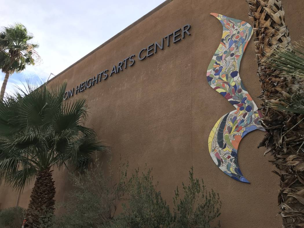 Charleston Heights Arts Center is undergoing approximately $2 million in renovations. The center is pictured in Las Vegas, Thursday, Nov. 16, 2017. Madelyn Reese View @MadelynGReese