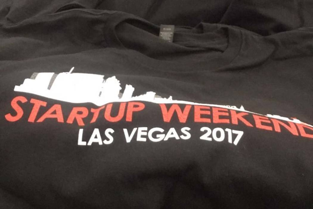 About 60 Las Vegas-area entrepreneurs attended Techstars Startup Weekend in Las Vegas at the Innevation Center. (Facebook)