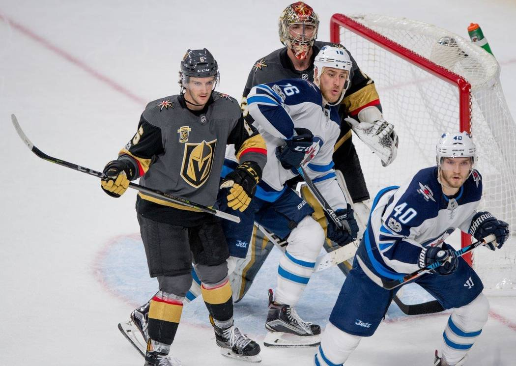 During the Golden Knights' first home game against Winnipeg, which our local heroes won 5-2, there was easy-going chatter about the Knights getting into the playoffs for the Stanley Cup finals in  ...