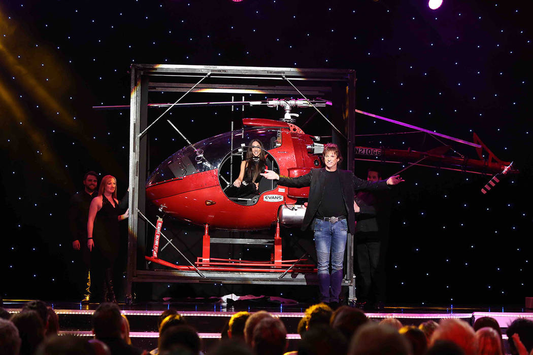 'Masters of Illusion' headliner Greg Gleason is known for making a helicopter disappear off stage. (Courtesy)
