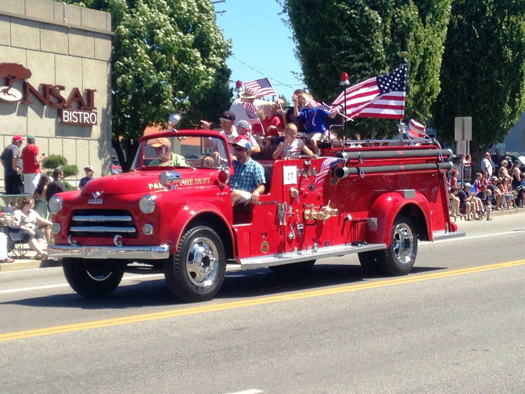 Findlay Cadillac The 1956 Dodge Findlay Family fire truck has become a very popular addition to community events. Shown above in Idaho, the fire truck is now housed at Findlay Cadillac in the Vall ...