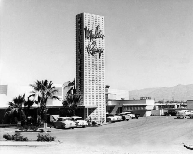 This is a June 1, 1955 file photo of Moulin Rouge.  Las Vegas News Bureau