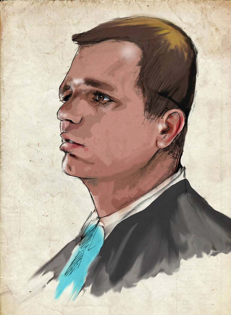 Ryan Bundy. Severiano del Castillo Galvan Las Vegas Review-Journal