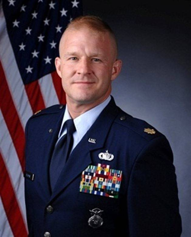 Maj. Jearl C. Allman, 60th Security Forces Squadron commander. U.S. Air Force