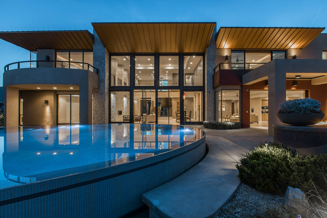 Shapiro & Sher Group This home in The Ridges listed for $4.2 million.