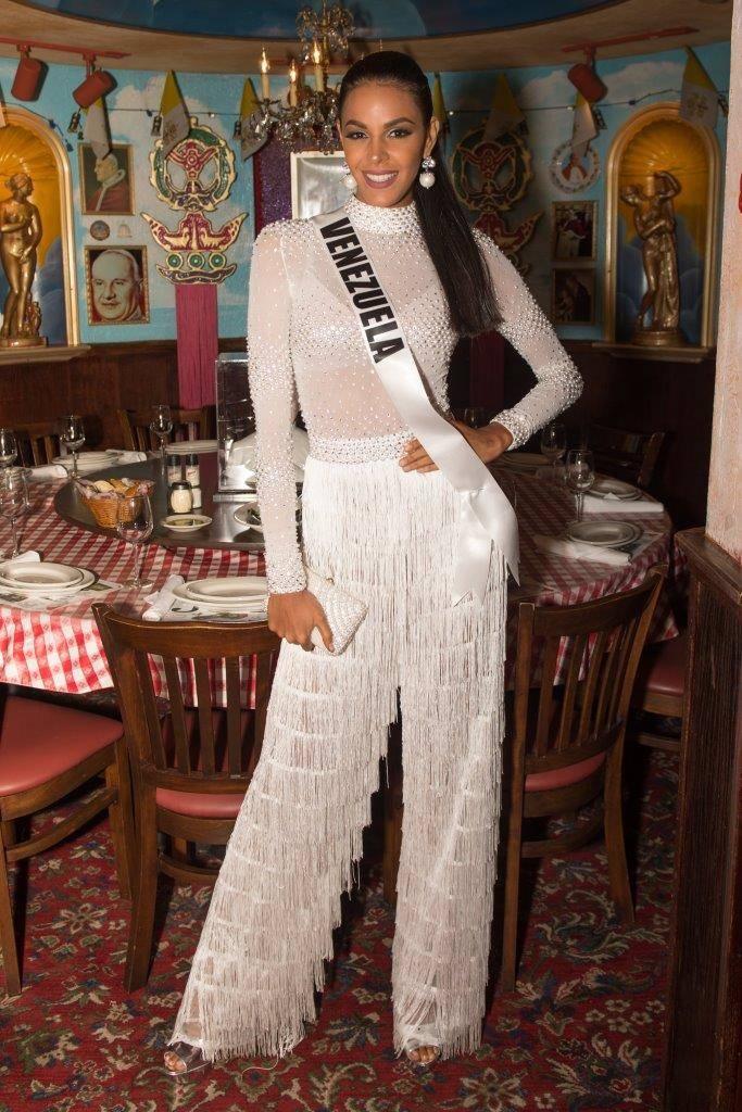 Miss Venezuela Sthefany Gutiérrez, 18. (Tom Donoghue)