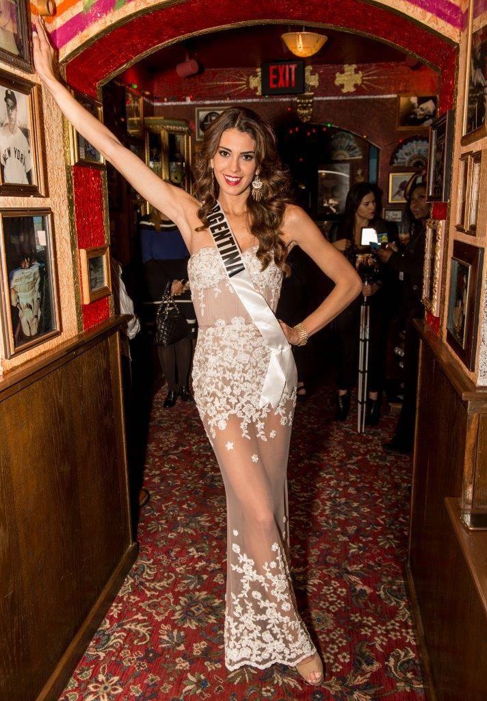 Miss Argentina Stefania Incandela. (Tom Donoghue)