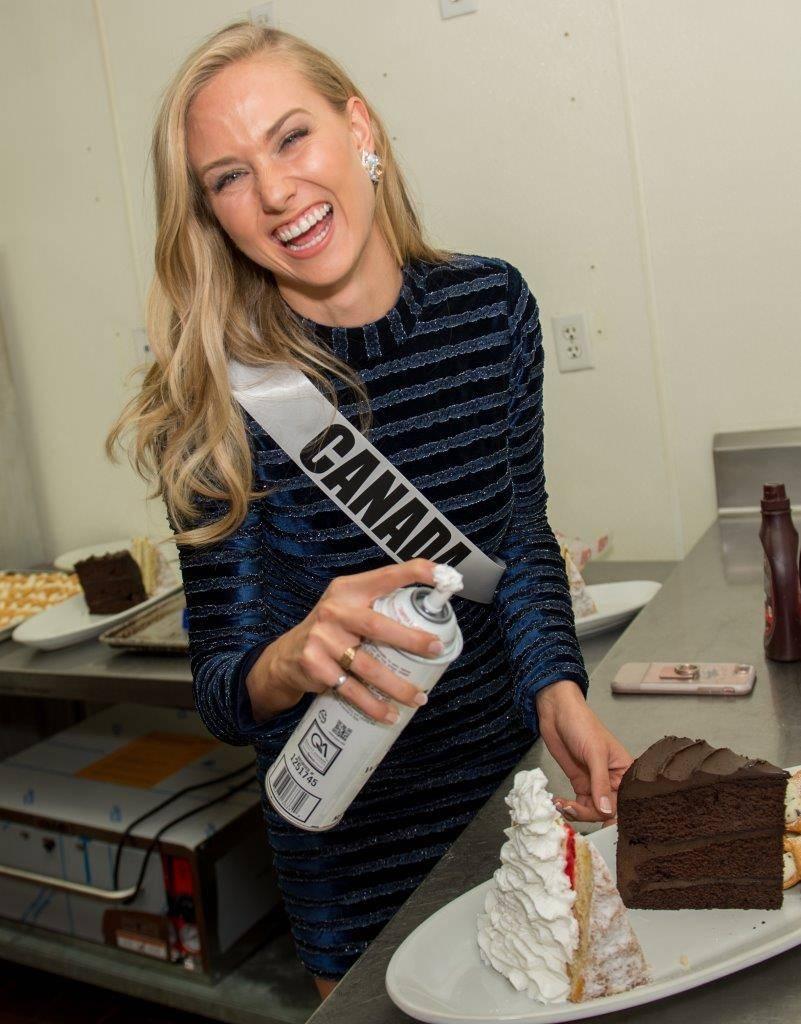 Miss Canada Lauren Howe. (Tom Donoghue)