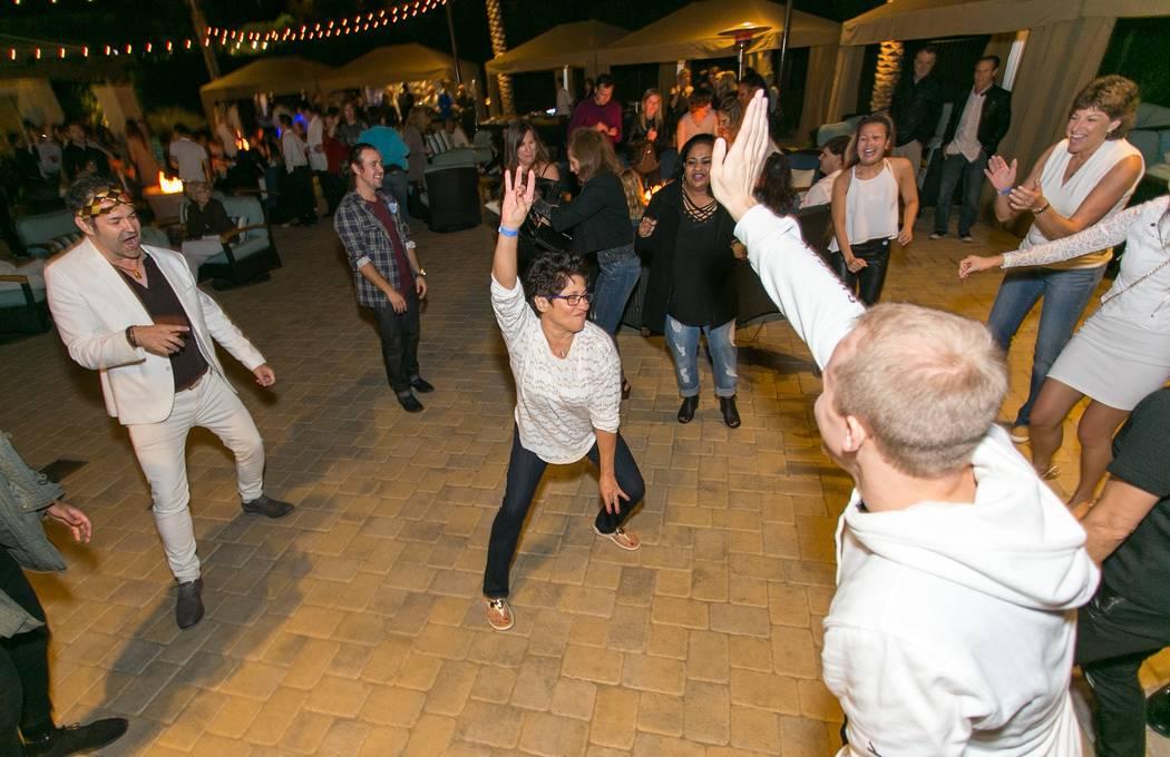 Life Time Athletic Winter Wonderland Dance Floor