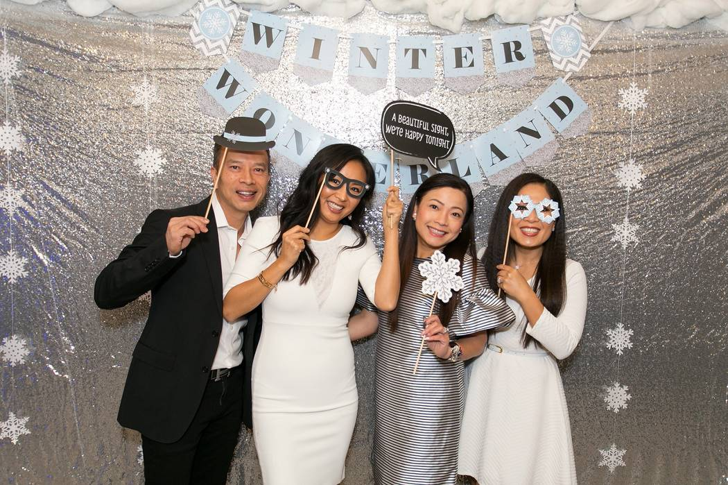 Life Time Athletic Winter Wonderland Photo Booth