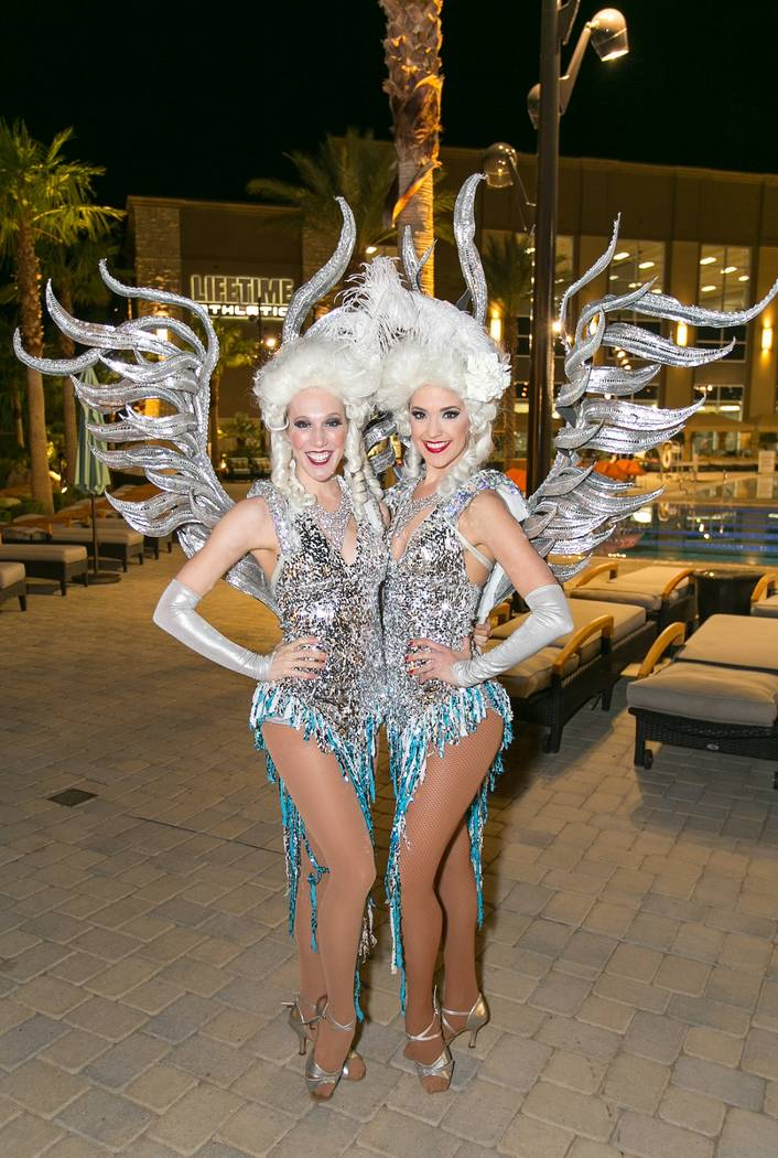 Life Time Athletic Winter Wonderland Showgirls