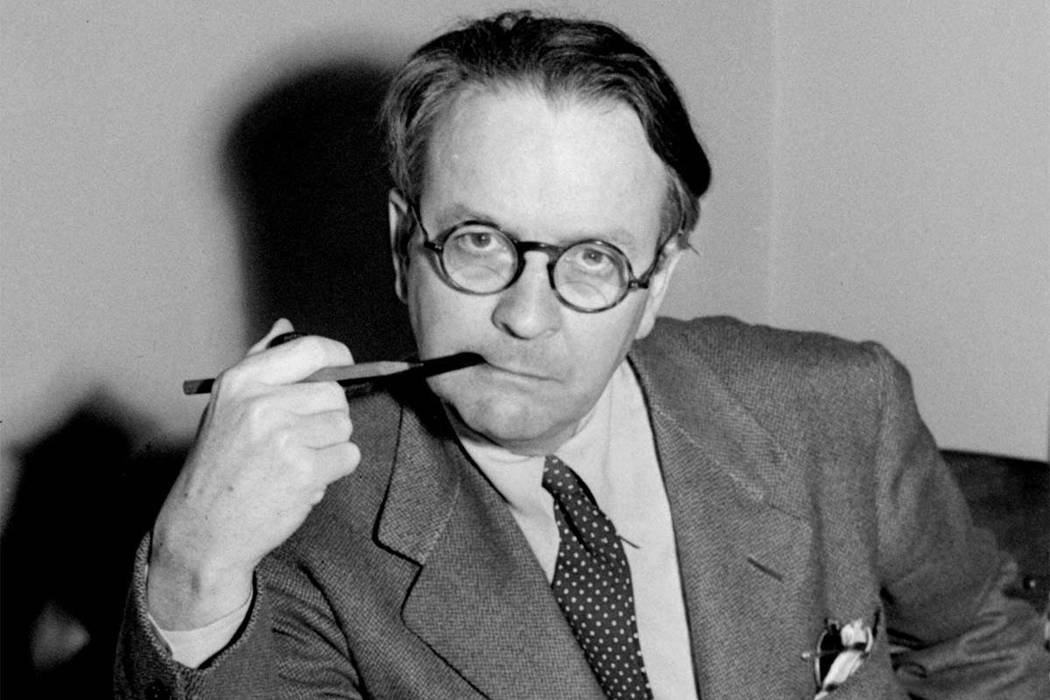 "This 1946 file photo shows mystery novelist and screenwriter Raymond Chandler. A newly discovered Chandler story, ""It's All Right: He Only Died""   will appear in the holiday edition of The Str ..."