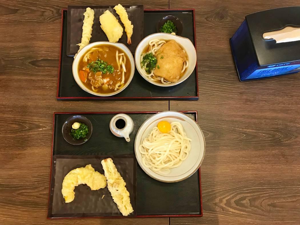 Cafe Sanuki noodle bar in Las Vegas, Wednesday, Nov. 15, 2017. Madelyn Reese View @MadelynGReese