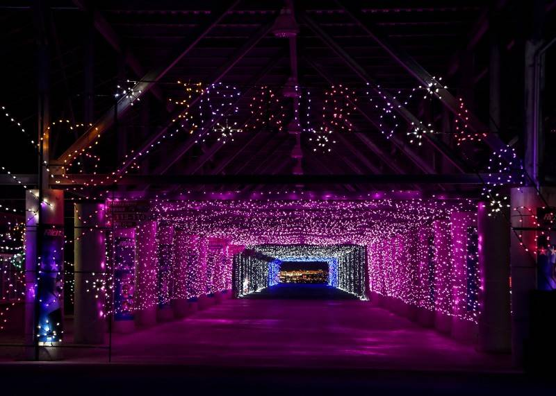 It's the 17th season of the Glittering Lights drive-thru holiday spectacular out at the Las Vegas Motor Speedway. Nevada's largest light show features 3 million LED lights along a 2.5-mile cou ...