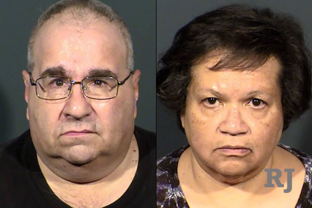 Ross Strauss, left, and Yolanda Strauss, right (Las Vegas Metropolitan Police Department)