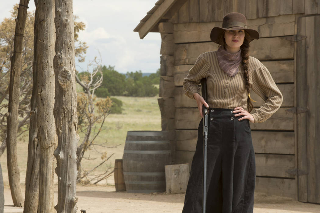 "Michelle Dockery stars in ""Godless."" (Ursula Coyote/Netflix)"