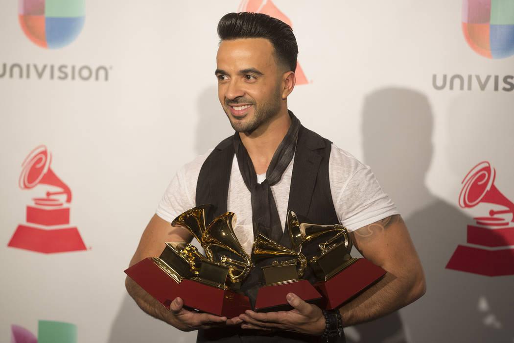 Grammys: 'Despacito' Wins Big At Latin Grammys In Las Vegas