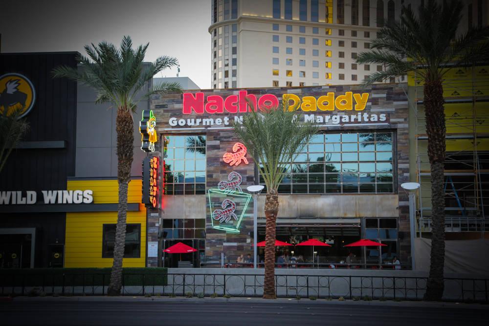 Courtesy Nacho Daddy opened on the Las Vegas Strip on Sept. 1, 2016.
