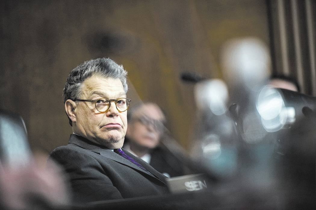 Sen. Al Franken, D-Minn. Washington Post photo by Melina Mara