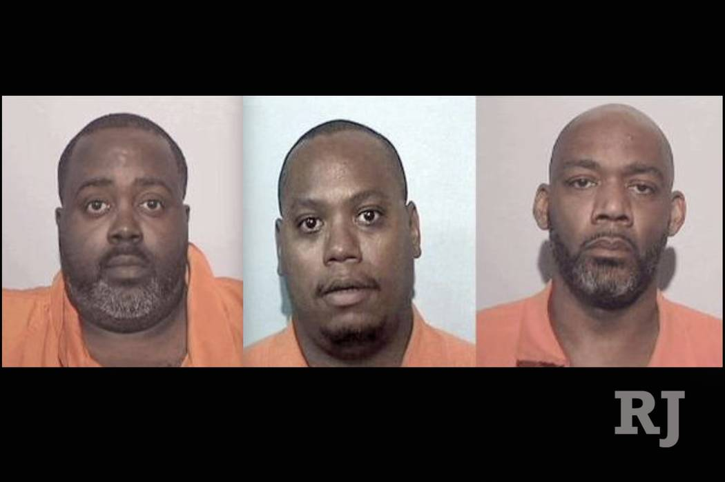 Anthony Haynes, Kenneth Butler and Cordell Jenkins (FBI)