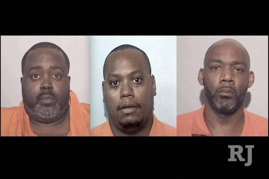 Anthony Haynes, Kenneth Butler and Cordell Jenkins (FBI)