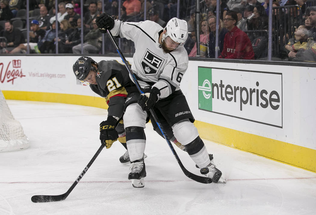 Cody Eakin Sparks Offense In Golden Knights' Win Over Kings