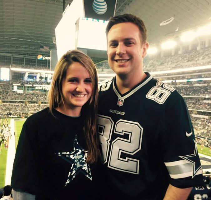 Tina Frost with her boyfriend, Austin Hughes. (Facebook)